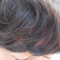 『エアーストレート』による前髪のクセ矯正