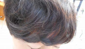 前髪エアーストレート