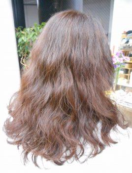 クセ毛によるパーマスタイル