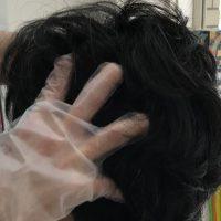 頭部リンパほぐし施術イメージ