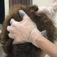 頭部リンパほぐしの施術イメージ