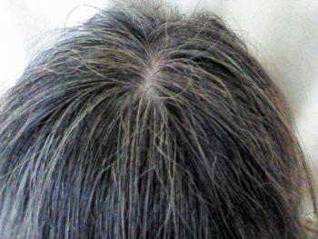 白髪のイメージ