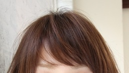 低明度&中彩度の髪色