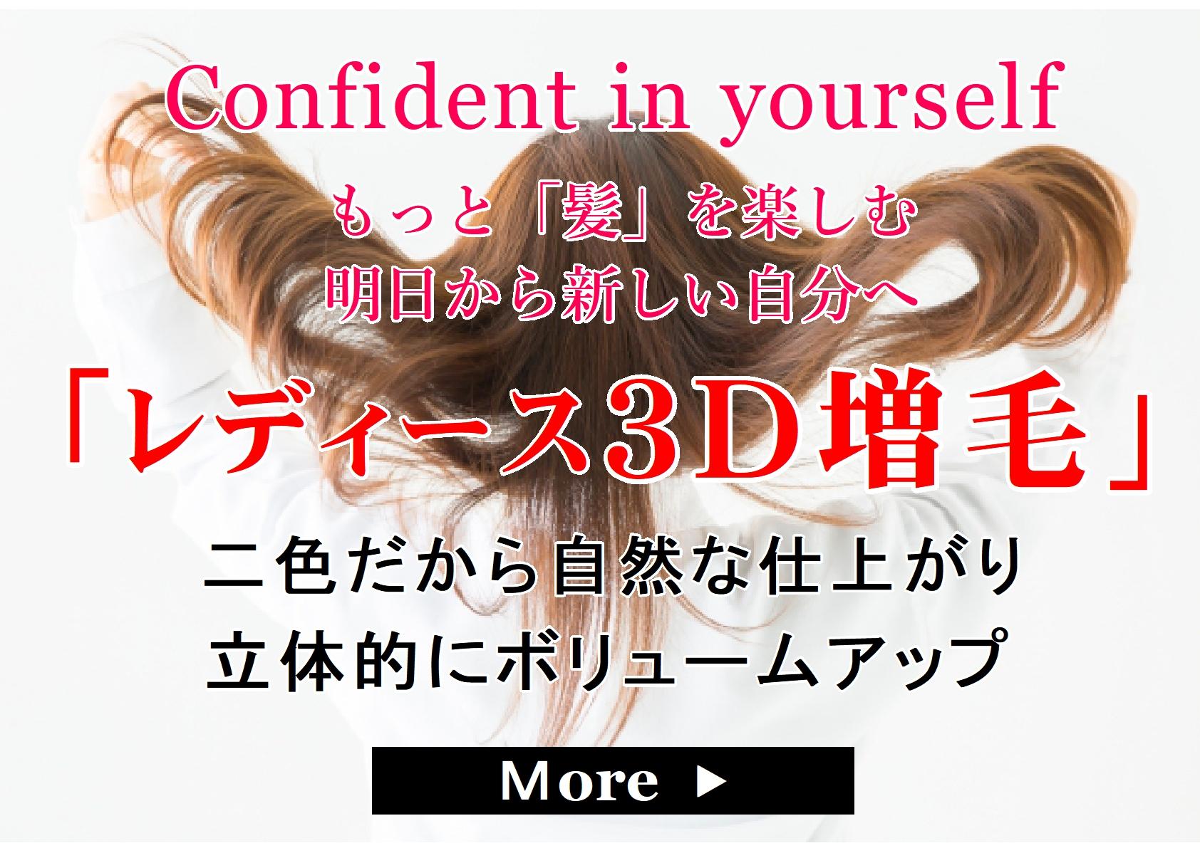 レディース3D増毛サイト
