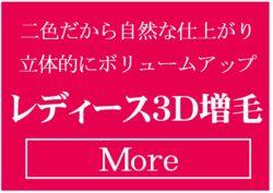 3D増毛エクステバナー
