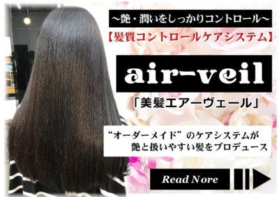 髪質コントロールケアシステム「美髪エアーヴェール」